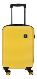 National Geographic Harde reistrolley Abroad Spinner geel 55 cm