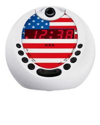 iCES wekkerradio met projectie USA ICRP-212