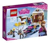 LEGO Disney Princess 41066 Slee avontuur met Anna en Kristoff-Vooraanzicht