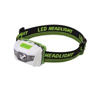 Lampe frontale avec LED vert/blanc