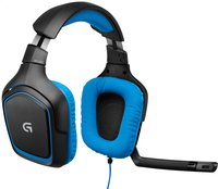 Logitech gaming headset voor pc G430  -Linkerzijde