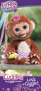 FurReal Friends interactieve knuffel Cuddles My Giggly Monkey-Afbeelding 2