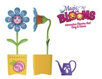 Silverlit Magic BLOOMS Single Flower geel-Vooraanzicht
