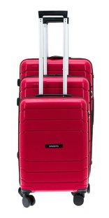 Davidt's set de 3 valises rigides Camino rouge-Avant