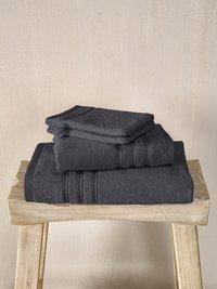 De Witte Lietaer Set de serviettes 4 pièces Dolce dark grey-Image 1