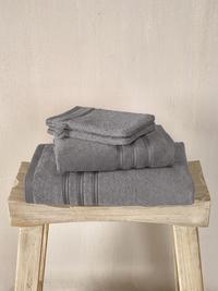 De Witte Lietaer Set de serviettes 4 pièces Dolce steel grey-Image 1