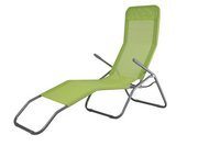 Chaise longue Lazy Lounger Siesta Beach lime