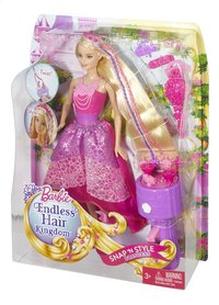 Barbie set de jeu  Endless Hair Kingdom Snap 'N Style-Côté droit