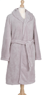 Jules Clarysse Robe de chambre Soho taupe S/M-commercieel beeld