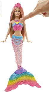 Barbie poupée mannequin  Rainbow lights Mermaid-Détail de l'article