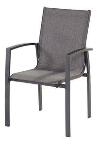 Hartman chaise de jardin Canterbury gris foncé