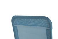Chaise longue Lazy Lounger Siesta Beach bleu-Vue du haut