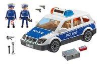 PLAYMOBIL City Action 6920 Politiepatrouille met licht en geluid-Vooraanzicht