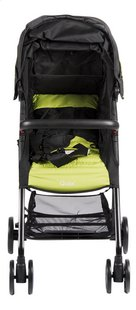 Quax Buggy Compact XL black/lime-Vooraanzicht