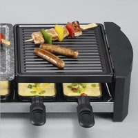 Severin Steengrill-grill-raclette RG2683-Afbeelding 1