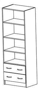 Demeyere Meubles armoire de rangement Dual décor chêne-Détail de l'article