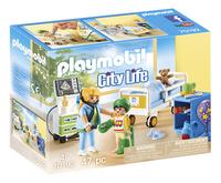PLAYMOBIL City Life 70192 Chambre d'hôpital pour enfant-Côté gauche