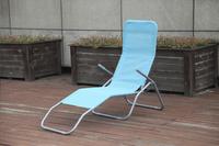 Chaise longue Lazy Lounger Siesta Beach bleu-Image 1