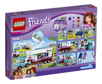 LEGO Friends 41125 Paardendokter trailer-Achteraanzicht