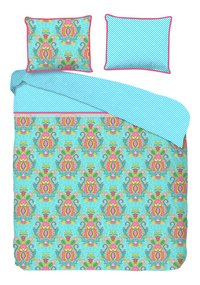 Happiness Housse de couette Yogi aqua percale-Avant