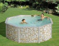 Gre piscine San Marina Iraklion diamètre 3,50 m
