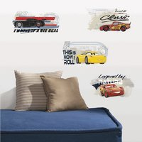 Sticker mural Disney Cars 3  - 4 stickers