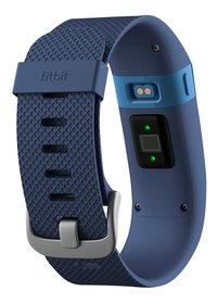 Fitbit activiteitsmeter Charge HR, maat L blauw-Achteraanzicht