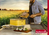 Barbecook Tafelbarbecue Carlo geel-Afbeelding 1