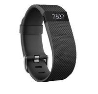 Fitbit activiteitsmeter Charge HR, maat L zwart