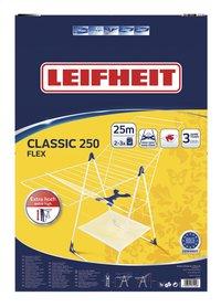 Leifheit Séchoir-papillon Classic 250 Flex blanc/bleu-Avant