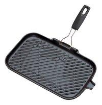 Le Creuset poêle-gril 36 x 20 cm noir