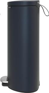 Brabantia pedaalemmer FlatBack+ 30 l blauw-Linkerzijde