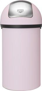 Brabantia Poubelle Push Bin mineral pink 60 l-Avant