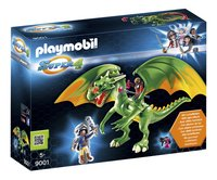 Playmobil Super 4 9001 Dragon Médiévalia avec Alex