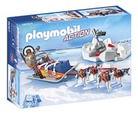 Playmobil Action 9057 Poolreiziger met hondenslee
