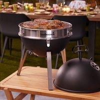 Barbecook Barbecue au charbon de bois Billy noir-Image 5