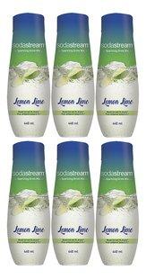 SodaStream Saveur Lemon Lime 440 ml - 6 pièces-Avant