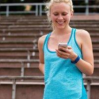 Fitbit activiteitsmeter Charge HR, maat L blauw-Afbeelding 2