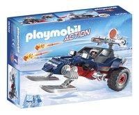 Playmobil Action 9058 Motoneige avec pirate des glaces