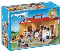 Playmobil Country 5348 Écurie transportable