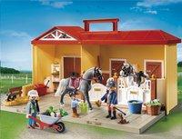 Playmobil Country 5348 Mijn meeneem paardenstal-Vooraanzicht