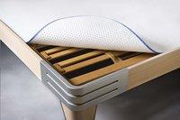 Inch matrasbeschermer onderaan Bristol 90 x 200 cm-Afbeelding 1
