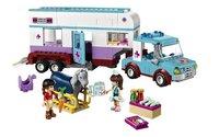 LEGO Friends 41125 Paardendokter trailer-Vooraanzicht