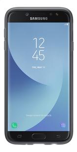 Samsung cover Galaxy J7 2017 + schermbeschermer zwart/transparant