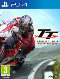 PS4 TT Isle of man Ride on the Edge ENG/FR
