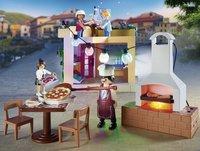 PLAYMOBIL City Life 70336 Pizzeria avec terrasse-Image 2