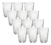 Bormioli Rocco 12 verres long drink Glit 39,5 cl-Avant