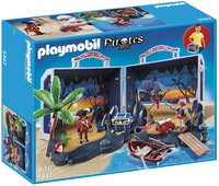 Playmobil Pirates 5347 Île au trésor des pirates transportable