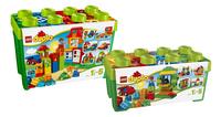 LEGO DUPLO 10572 Boîte verte tout-en-un + 10580 Boîte de construction de luxe