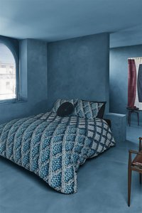 Beddinghouse Dekbedovertrek Ivar blue flanel 200 x 220 cm-Afbeelding 2